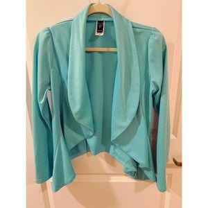 Aqua Blue Windsor Jacket